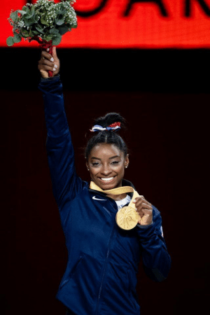 RT @Simone_Biles: feeling GOLDEN this morning  5X WORLD ALL AROUND CHAMPION  everytime feels just like the first https://t.co/CnINDGSQNE: Д RT @Simone_Biles: feeling GOLDEN this morning  5X WORLD ALL AROUND CHAMPION  everytime feels just like the first https://t.co/CnINDGSQNE