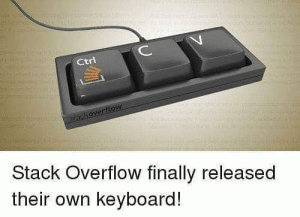 Lifesaver.: ИИНН  C  Ctri  tackoverflow  Stack Overflow finally released  their own keyboard! Lifesaver.