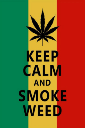 eb364a03 Funny, Weed, and Canvas: КEEP CALM AND SMOKE WEED Custom Canvas Wall Decor