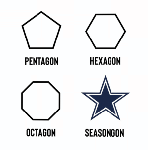 Know your shapes! https://t.co/tW1RPxmcHi: НЕХAGON  PENTAGON  OCTAGON  SEASONGON Know your shapes! https://t.co/tW1RPxmcHi