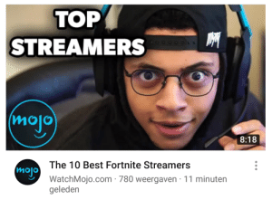WatchMojo has reached an even lower level of cringe: ТОР  STREAMERS  (mojo  8:18  The 10 Best Fortnite Streamers  mojo  WatchMojo.com 780 weergaven 11 minuten  geleden WatchMojo has reached an even lower level of cringe