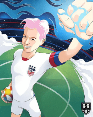Football, Megan, and France: ЧSA  BR  FOOTBALL Megan Rapinoe puts the USWNT up 1-0 vs. France in less than six minutes ⚡
