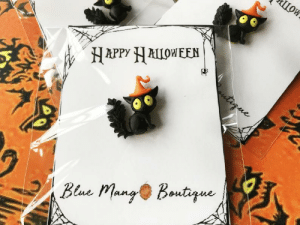 awesomage:  Cat Pin Halloween Jewelry: ШОК  Цои  HAPPY ALLOWEEN  tirne  Bene Mang Boutque awesomage:  Cat Pin Halloween Jewelry