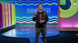 Hey guys! Confetti is Facebook Watch's live quiz show where you will be asked 10 fun questions about Bollywood, Entertainment and Pop culture and you can stand a chance to win upto Rs 5,00,000! Here's a short video by our host with the most, Varun Thakur, on how to play the game! #ConfettiIndia: וזיס 80y  בה Hey guys! Confetti is Facebook Watch's live quiz show where you will be asked 10 fun questions about Bollywood, Entertainment and Pop culture and you can stand a chance to win upto Rs 5,00,000! Here's a short video by our host with the most, Varun Thakur, on how to play the game! #ConfettiIndia