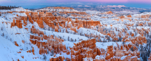 Was tremendously lucky to snap a sunset post blizzard at Bryce Canyon National Park, only could get into 3 miles of the park as everything was closed and it was unbelievably cold with 25mph winds too!: स  PMCCARTEM BERGERON  MCCARTHYBERGERON COM Was tremendously lucky to snap a sunset post blizzard at Bryce Canyon National Park, only could get into 3 miles of the park as everything was closed and it was unbelievably cold with 25mph winds too!