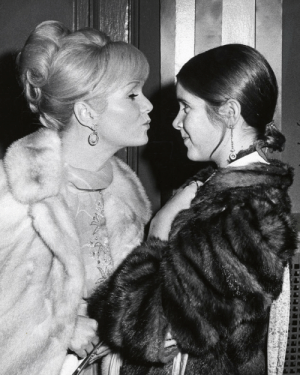 Carrie Fisher, Tumblr, and Blog: ৯৯ thefilmstage:R.I.P. Debbie Reynolds, who has passed away at the age of 84 – one day after her daughter Carrie Fisher died.