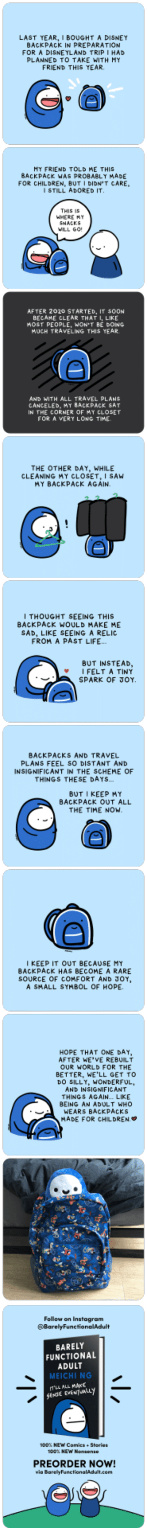 """Backpack"" (First post on r/comics, please go easy on me!): ""Backpack"" (First post on r/comics, please go easy on me!)"
