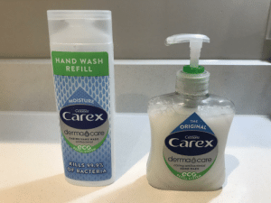 """""""Eco refill"""" is the same size and also made of plastic...: """"Eco refill"""" is the same size and also made of plastic..."""