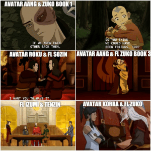 """""""Some friendships are so strong, they can even transcend lifetimes."""" - Avatar Roku: """"Some friendships are so strong, they can even transcend lifetimes."""" - Avatar Roku"""