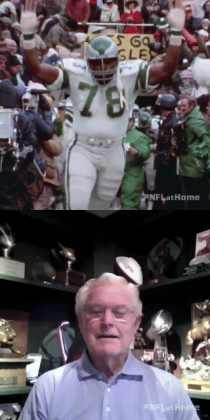 """""""That was probably the loudest I've ever (heard) a crowd.""""  Former NFL coaches Dick Vermeil and @hermedwards will never forget it. (via @NFLFilms) @Eagles https://t.co/pz86eWDbTm: """"That was probably the loudest I've ever (heard) a crowd.""""  Former NFL coaches Dick Vermeil and @hermedwards will never forget it. (via @NFLFilms) @Eagles https://t.co/pz86eWDbTm"""