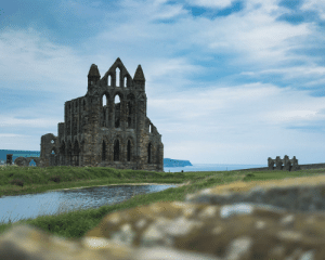 """Life, Dracula, and United: """"There are darknesses in life and there are lights, and you are one of the lights, the light of all lights."""" - Bram Stoker, 𝘋𝘳𝘢𝘤𝘶𝘭𝘢. (Whitby Abbey, United Kingdom) IG@bradleyfoster95"""