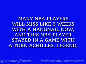 """Who is: Kobe Bryant?"" #JeopardySports #Lakers https://t.co/LH0ObK8Dm2: ""Who is: Kobe Bryant?"" #JeopardySports #Lakers https://t.co/LH0ObK8Dm2"