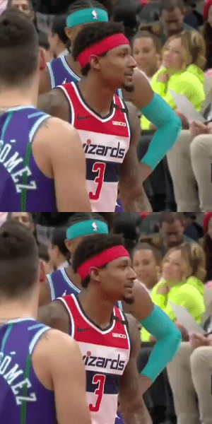 """You can't guard me.""  Bradley Beal was talking trash on his way to 34 PTS (25 in 1st half), 9 AST, 9 REB    https://t.co/CouwZnJUho: ""You can't guard me.""  Bradley Beal was talking trash on his way to 34 PTS (25 in 1st half), 9 AST, 9 REB    https://t.co/CouwZnJUho"