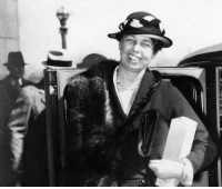 """Memes, Eleanor Roosevelt, and 🤖: """"You must do the things you think you cannot do."""" —Eleanor Roosevelt, who was born on this day in 1884"""