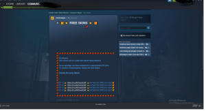 Steam account got hacked by this shit lmao when i was drunk i told support still waiting idk what to do ;-;: → STORE LIBRARY COMMUNIT  A Valve Corp [us] https://steamcommunity.com/app/730/discussions/1/264630UJC.  Counter-Strike: Global Offensive > Looking For Players > Topic Details  Date Posted: 26 Dec @ 11:06am  cs:GO News -  cakuo  2 minutes ago  Posts: 1  FREE SKINS ★  Search this topic  i Discussions Rules and Guidelines  More discussions  shattered web mission comp offic... 21  Worthless Egirl lookin' for homie...  24  i am looking for people to teach m... 2 4  planning to make a fun and chill t...P 13  O Hi plAyers.  O The recent server crash has upset many players.  O As an apology, we have prepared a compensation for you.  O To receive compensation, follow the link below.  O Thanks for using Steam  https://t.co/hjPesx8r4W and take the SKIN you want! f  https://t.co/hjPesx8r4W and take the SKIN you want! if  GO TO  GO TO  GO TO  https://t.co/hjPesx8r4W and take the SKIN you want! if  GO TO  https://t.co/hjPesx8r4W and take the SKIN you want! if  Last edited by CS:GO News, Just now  Activate Windows  Go to Settings to activate Windows.  NO CONNECTION  FRIENDS  + ADD A GAME  & CHAT Steam account got hacked by this shit lmao when i was drunk i told support still waiting idk what to do ;-;