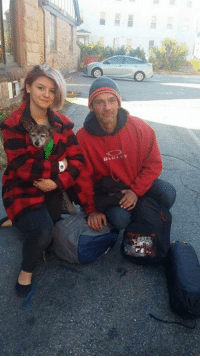 """Last night we shared a post from Michaela's Live and Virtual lemonade stand about a man in Worcester who needed a little help. Mom met him at about 4pm yesterday. By today at 10 am Michaela and her mom Jen had brought him a tent, blanket and a backpack loaded with supplies. Mom showed up a bit later with some sweaters for his dog Brownie! You see Ray is one of about 3800 homeless in Worcester Mass! After mom spoke with him yesterday she contacted Michaela's mom to tell her about Ray. Michaela has started """"One act of kindness"""" using backpacks filled with supplies to help the homeless. It not only gives them items they may need...It also lets them know that someone cares!  This statement comes from Michaela's page... Michaela here we brought Ray and Brownie a backpack, tent, treats and more. Deb ( Juno's Place ) saved the day with some sweaters to keep Brownie warm. The thought that someone cared about him and Brownie enough to bring them stuff brought tears to all of our eyes. He has been homeless since February. As you can tell I loved Brownie she is so sweet. I want to continue to help him and his pup somehow. This is the face of someone who wants to work and be successful. Please lets go viral if everyone stepped up to help one person it will make a difference. Together WE can make a change: ■翻  Die"""" LY Last night we shared a post from Michaela's Live and Virtual lemonade stand about a man in Worcester who needed a little help. Mom met him at about 4pm yesterday. By today at 10 am Michaela and her mom Jen had brought him a tent, blanket and a backpack loaded with supplies. Mom showed up a bit later with some sweaters for his dog Brownie! You see Ray is one of about 3800 homeless in Worcester Mass! After mom spoke with him yesterday she contacted Michaela's mom to tell her about Ray. Michaela has started """"One act of kindness"""" using backpacks filled with supplies to help the homeless. It not only gives them items they may need...It also lets them know that someone c"""