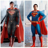 Christopher Reeve in MoS suit. And @henrycavill in the Superman suit Edit: Unknown superman clarkkent christophereeve Henrycavill Manofsteel zacksnyder: ■ 111111111M Christopher Reeve in MoS suit. And @henrycavill in the Superman suit Edit: Unknown superman clarkkent christophereeve Henrycavill Manofsteel zacksnyder