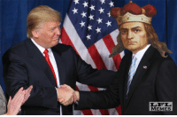 Memes, Lithuania, and 🤖: ★ A★ ★  xxxxx  LFL  MEMES Grand duke of Lithuania meets the new president of the United States.  #realisbeautiful