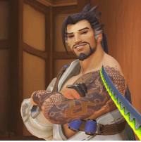 When you see an enemy Hanzo: 」」レ When you see an enemy Hanzo