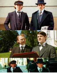 Friends, Memes, and Game: 』T Pictures from the upcoming series 'Adolf the Artist' starring Iwan Rheon (Ramsay Bolton, Game of Thrones) as young Adolf Hitler and Rupert Grint (Ron Weasley, Harry Potter) as Hitler's teenage friend August Kubizek.