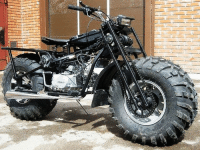 """This is the Russian VASUGAN 2x2 All-Terrain Motorcycle. That;s right, an all-wheel drive motorcycle! It looks a little... """"different"""", but it would definitely be one of my top picks when selecting a Bug Out vehicle. - Tom Retterbush: ぞ This is the Russian VASUGAN 2x2 All-Terrain Motorcycle. That;s right, an all-wheel drive motorcycle! It looks a little... """"different"""", but it would definitely be one of my top picks when selecting a Bug Out vehicle. - Tom Retterbush"""