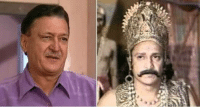 Indianpeoplefacebook, Ramayana, and Rip: や RIP  Ramayana actor Mukesh Rawal found dead.