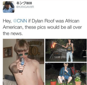 talkdowntowhitepeople:  adoradoll:  Repost, share, spread the word. Everyone must see this!!  look at this pathetic inbred shitpile: キング808  @KXNGAV8R  Hey, @CNN if Dylan Roof was African  American, these pics would be all over  the news.  I0.  GYM  2814 talkdowntowhitepeople:  adoradoll:  Repost, share, spread the word. Everyone must see this!!  look at this pathetic inbred shitpile