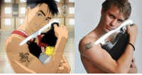 Anime: Yuri on Ice  Fun fact: Jean Jacque's pose from episode 8 was based on a photoshoot of Michal Březina, a Czech figure skater who's now at the end of his career. He is the 2013 European bronze medalist, 2011 Skate America champion, 2009 World Junior silver medalist, and 2010 Czech national champion.  We were introduced to four new characters this week (five if you count Michele's sister). Do you guys have any first impressions on them and their skating?  Admin Urushihara --- Fall 2016 Voting Link: https://goo.gl/VVPEil Character Polls: https://goo.gl/6Ivduk Soundtrack Polls: https://goo.gl/ITwd3G: シ Anime: Yuri on Ice  Fun fact: Jean Jacque's pose from episode 8 was based on a photoshoot of Michal Březina, a Czech figure skater who's now at the end of his career. He is the 2013 European bronze medalist, 2011 Skate America champion, 2009 World Junior silver medalist, and 2010 Czech national champion.  We were introduced to four new characters this week (five if you count Michele's sister). Do you guys have any first impressions on them and their skating?  Admin Urushihara --- Fall 2016 Voting Link: https://goo.gl/VVPEil Character Polls: https://goo.gl/6Ivduk Soundtrack Polls: https://goo.gl/ITwd3G