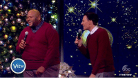 "Disappointed, Memes, and 🤖: .ブ""A  THE  IEW  I Ew  c  #THEVIEW  @p Clay Aiken and Ruben Studdard perform together for the first time in 13 years, and they DO NOT disappoint! 🎤"