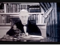 "At his January, 1944 State of the Union address, just about a year before he was elected to a 4th term and a year and a half before he died, Roosevelt laid out what he called the ""Second Bill Of Rights."" He asked for newsreel-style film cameras to capture the address, and the outline of his vision. Alas, it never passed Congress, but it would have redefined this country in beautiful ways. Watch:: ヲぞ At his January, 1944 State of the Union address, just about a year before he was elected to a 4th term and a year and a half before he died, Roosevelt laid out what he called the ""Second Bill Of Rights."" He asked for newsreel-style film cameras to capture the address, and the outline of his vision. Alas, it never passed Congress, but it would have redefined this country in beautiful ways. Watch:"