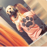 Thanks @mikaylaabree for the support in our grapefruit black paisley long sleeve 💕 order now at PawzShop.com for free shipping 🐾: ㄋ Thanks @mikaylaabree for the support in our grapefruit black paisley long sleeve 💕 order now at PawzShop.com for free shipping 🐾