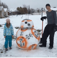 How to build the ultimate Snowman! Via @9gag starwarsfacts: 七 How to build the ultimate Snowman! Via @9gag starwarsfacts