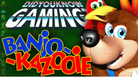 Check out the latest Did You Know Gaming?, Banjo-Kazooie! https://www.youtube.com/watch?v=wmXBD_fOgv0&list=PL26D7E5A7D29CCAB3: 上227YOUKNOis  Δ  Δ  DD Check out the latest Did You Know Gaming?, Banjo-Kazooie! https://www.youtube.com/watch?v=wmXBD_fOgv0&list=PL26D7E5A7D29CCAB3