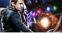 """In an interview promoting his new film, THE ARRIVAL, Jeremy Renner was asked regarding Hawkeye's role in the upcoming AVENGERS movies.  """"I know the [talk] of what it's about sounded fantastic,"""" Renner continued. """"The Russo brothers have got some really great ideas, and they're following certain parts of Infinity War. There's some really exciting stuff for a lot of the characters, especially with what they're thinking about doing with Hawkeye especially, I'm pretty excited about.""""  What do you hope to saw from Hawkeye in the upcoming AVENGERS films?  (Tim Costello): 云 In an interview promoting his new film, THE ARRIVAL, Jeremy Renner was asked regarding Hawkeye's role in the upcoming AVENGERS movies.  """"I know the [talk] of what it's about sounded fantastic,"""" Renner continued. """"The Russo brothers have got some really great ideas, and they're following certain parts of Infinity War. There's some really exciting stuff for a lot of the characters, especially with what they're thinking about doing with Hawkeye especially, I'm pretty excited about.""""  What do you hope to saw from Hawkeye in the upcoming AVENGERS films?  (Tim Costello)"""