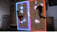 Pong version 2016! I really want to test it! 😃 Credit: Augmented Climbing Wall! ;): 刁  AL Pong version 2016! I really want to test it! 😃 Credit: Augmented Climbing Wall! ;)