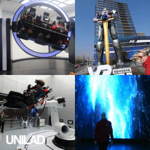 The is the world's largest virtual reality theme park and it looks absolutely incredible! 😱🙌  Nathie: 南昌VR主题乐园  R  UNIAD The is the world's largest virtual reality theme park and it looks absolutely incredible! 😱🙌  Nathie