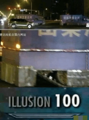 Oh no: 博讯转载自国内网站  ILLUSION 100  MemeCenter.co Oh no