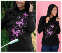 Pink Ribbon Butterfly Lightweight Thermal Hoodie on sale today at The Breast Cancer Site! Purchases fund mammograms, research & care for women in need!  ★ORDER NOW★ http://po.st/g5bEFQ: 占  O Pink Ribbon Butterfly Lightweight Thermal Hoodie on sale today at The Breast Cancer Site! Purchases fund mammograms, research & care for women in need!  ★ORDER NOW★ http://po.st/g5bEFQ
