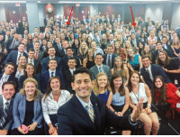 All of you complaining about Paul Ryan's selfie with Congressional interns are stupid. It's not ALL white. It's only 99% white.: 咖胁.  d All of you complaining about Paul Ryan's selfie with Congressional interns are stupid. It's not ALL white. It's only 99% white.