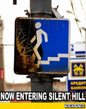 lolzandtrollz:  That Moment When You Take The Wrong Turn: 困  NOW ENTERING SILENT HILL  THE META PICTURE lolzandtrollz:  That Moment When You Take The Wrong Turn