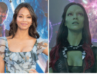 Memes, Congratulations, and Http: 在 Congratulations to 'Gamora' actress Zoe Saldana on the birth of her third child, Zen! http://usat.ly/2l8ccR9  (Andrew Gifford)