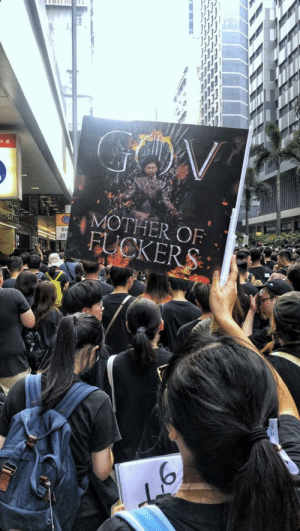 Hong Kong, Mother, and Kong: 大廈  MOTHER OF  FUCKERS  En Meanwhile in Hong Kong