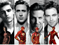 @comicbookhq - Who would you cast as Barry Allen or Wally West Flash between these four choices? Left - Right: Dave Franco, Ryan Gosling, Bradley Cooper, and Chris Pine. Via @dc_flash.id: 尸 ー︼rlID  ご @comicbookhq - Who would you cast as Barry Allen or Wally West Flash between these four choices? Left - Right: Dave Franco, Ryan Gosling, Bradley Cooper, and Chris Pine. Via @dc_flash.id