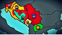 "Fall, News, and Taken: 帝 Yugoslav Countryball Wargame  Turn 3  There are some alternate events!  Year 1993 Yugoslavia is falling apart, nationalist governments have taken over communist governments. In this universe Republika Srpska gained independence and became Serbia's puppet state. Serbia and Croatia signed a non aggresion pact that will last until 1995!  Tensions in Bosnia are rising because of Croatian minority and Serbs in some regions! Serbia formed the ""Serbian Alliance"" to unite the Serbs!  Serbian Alliance: Serbia (Leader) Republika Srpska Montenegro  Top 3 countries by Economy: 1. Croatia 2. Slovenia 3. Serbia  Top 3 countries by military: 1. Serbia 2. Croatia 3. Federation of BiH  NEWS: Croatia declared war on Slovenia and attacked it, the Serbian Alliance felt threatened by the growing power of croats and decided to help Slovenia.  Serbian forces annexed Republika Srpska Krajina with the help of the serbian population in these areas.  Serbia - Equi Montenegro - Radivoje Bošković Croatia - Georgie Dimeski Macedonia - Tamas Polgardi Republika Srpska - Mirko Krstic Slovenia - Bogdan Huey Kocanovic Federation of Bosnia and Herzegovina - Some greek name"