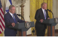 During his press conference with Israeli Prime Minister Benjamin Netanyahu, President Donald Trump called the Iran Deal the worst deal that he has ever seen. President Trump also promised that the United States will always stand with Israel against the threat posed by terrorism.  Turn on sound to watch the video!: 弓 During his press conference with Israeli Prime Minister Benjamin Netanyahu, President Donald Trump called the Iran Deal the worst deal that he has ever seen. President Trump also promised that the United States will always stand with Israel against the threat posed by terrorism.  Turn on sound to watch the video!