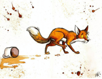 I NEED MORE COFFEE!!!  Link to artist: http://culpeo-fox.deviantart.com/  Silly fox. Stay off of the table.  ~Toasty: 必  빛 I NEED MORE COFFEE!!!  Link to artist: http://culpeo-fox.deviantart.com/  Silly fox. Stay off of the table.  ~Toasty