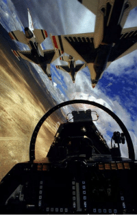 View from the back seat of a USAF Thunderbird F-16D: 旨图  ㄖㄖㄖ  □□□-u歪, View from the back seat of a USAF Thunderbird F-16D