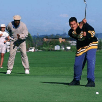 21 years ago today, Shooter McGavin blew a 4 stroke lead to Happy Gilmore on the back 9 of the Tour Championship. Never forget.: 曲:a 21 years ago today, Shooter McGavin blew a 4 stroke lead to Happy Gilmore on the back 9 of the Tour Championship. Never forget.