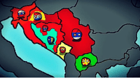 "Fall, News, and Taken: 步  D Yugoslav Countryball Wargame  Turn 5  There are some alternate events!  Year 1995 Yugoslavia is falling apart, nationalist governments have taken over communist governments. In this universe Republika Srpska gained independence and became Serbia's puppet state. Serbia and Croatia signed a non aggresion pact that will last until 1995!  Tensions in Bosnia are rising because of Croatian minority and Serbs in some regions! Serbia formed the ""Serbian Alliance"" to unite the Serbs!  Serbian Alliance: Serbia (Leader) Republika Srpska Montenegro  Top 3 countries by Economy: 1. Slovenia 2. Serbia 3. Federation of BiH  Top 3 countries by military: 1. Serbia 2. Slovenia 3. Republika Srpska  NEWS: Zagreb (Croatian Capital) has been captured by Slovenian special forces, Croatia is dying out, people are dying out of hunger, economy is decreasing every day and inflation levels are higher than any country in the world. By capturing Zagreb Treaty of Bijeljina will be signed and the map if Yugoslavia will be Rewritten  (Game will last until 2000, after that whole balkan will be playable)  Serbia - Equi Montenegro - Radivoje Bošković Croatia - Georgie Dimeski Macedonia - Tamas Polgardi Republika Srpska - Mirko Krstic Slovenia - Bogdan Huey Kocanovic Federation of Bosnia and Herzegovina - Some greek name"