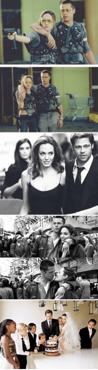 "Xxx, Appreciate, and Quite: 満   ⑤少   E ""After 11 years, Brangelina calls it quits"" I need a moment to appreciate this 😭"